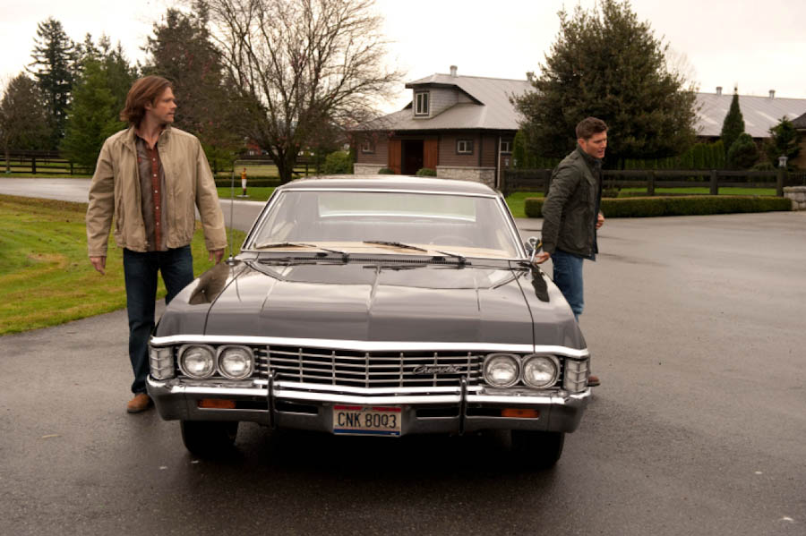 SUPERNATURAL Star Jensen Ackles Opens Up About The Impala The - Supernatural show car
